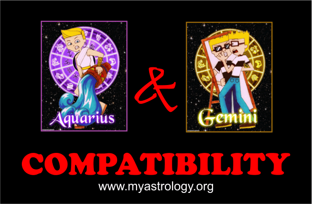 Friendship Compatibility for Gemini and Aquarius using Astrology