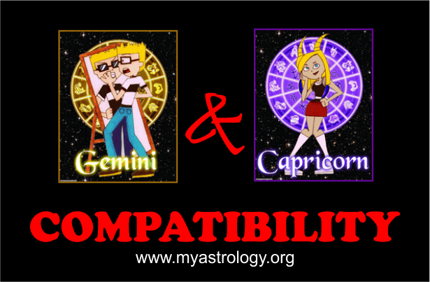 Gemini and Capricorn Compatibility