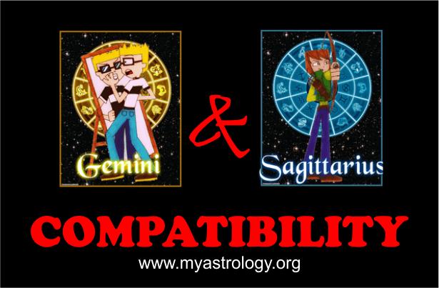 Gemini and Sagittarius Compatibility