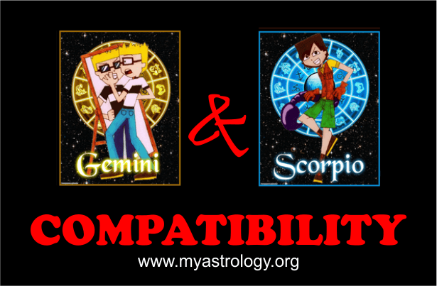 Gemini and Scorpio Compatibility