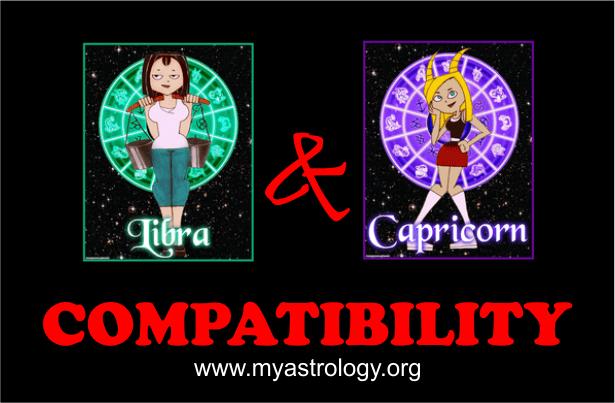 Libra and Capricorn Compatibility