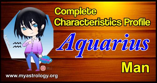 Profile Aquarius Man
