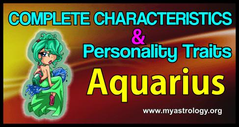 Traits Aquarius