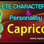 Traits Capricorn
