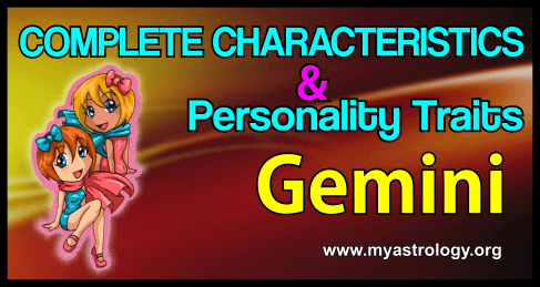 Traits Gemini