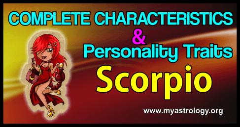 Traits Scorpio