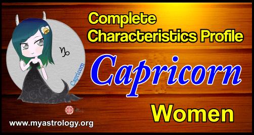 Profile Capricorn Women
