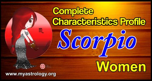 Profile Scorpio Women