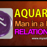 Relationship Aquarius Man