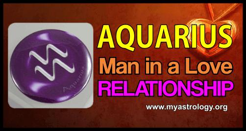 Relationship Aquarius Man