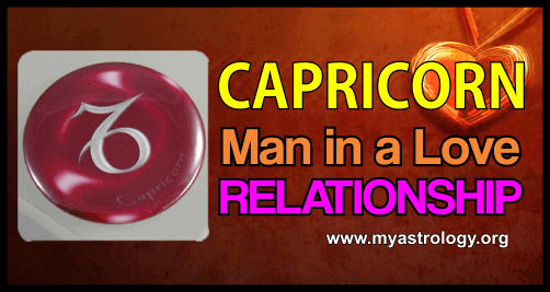 Relationship Capricorn Man