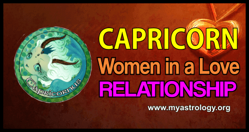 Relationship Capricorn Women