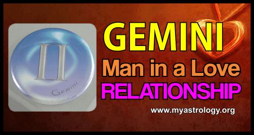 Relationship Gemini Man