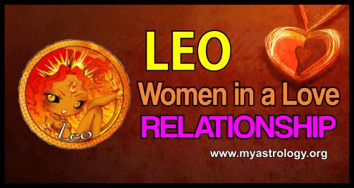 Relationship Leo Women