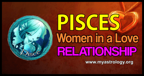 Pisces woman in a love relationship