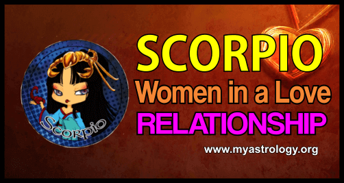 Scorpio woman in a love relationship