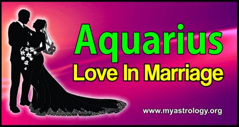Marriage Aquarius