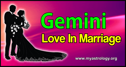 Gemini Love in Marriage