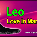Marriage Leo