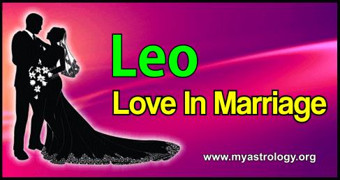 Marriage Leo