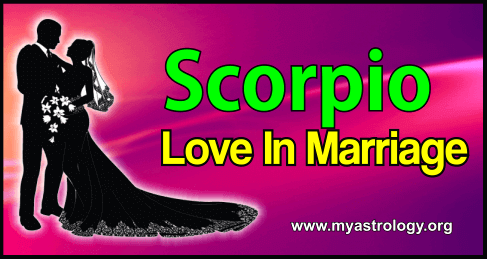 Scorpio Love in Marriage
