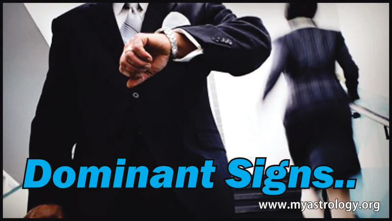 Dominant Signs